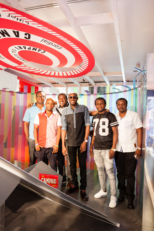 Efe Omorogbe, Thadeus Abugu, Abayomi Ajao, 2Baba, Okonkwo Chukwunonso and Ndubuisi Onyenanu