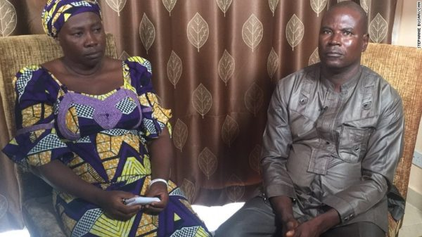 Esther and Yakubu Kabu