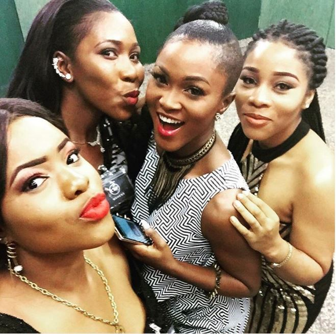 Eva Alordiah and the ladies