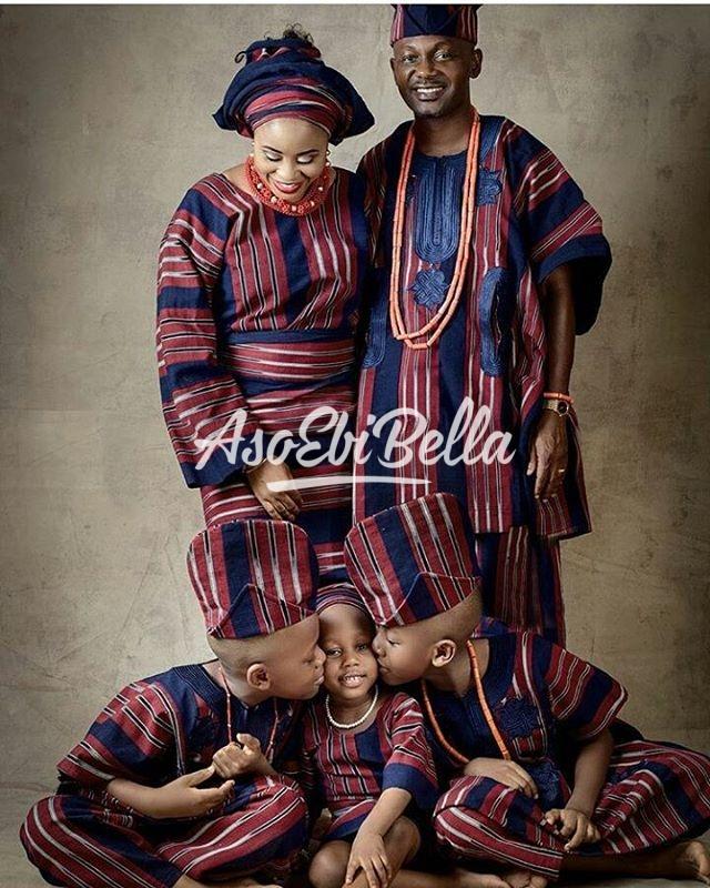 Family Goals MUA @kuddybeautystudio @beemballer_kuddy_aso ebi, asoebi, asoebibella