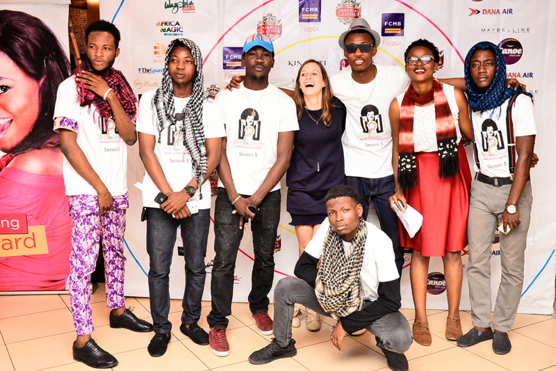Francesca from Kinabuti with the Student influencers