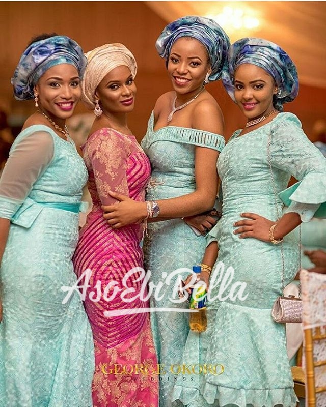 Friends of the bride Photography by @georgeokoroweddings