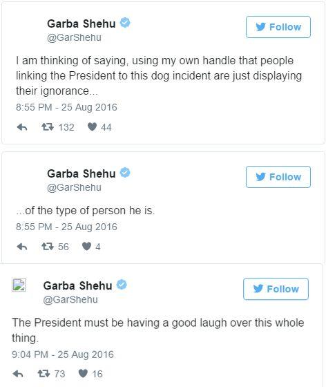 Garba Shehu on Man who named do Buhari