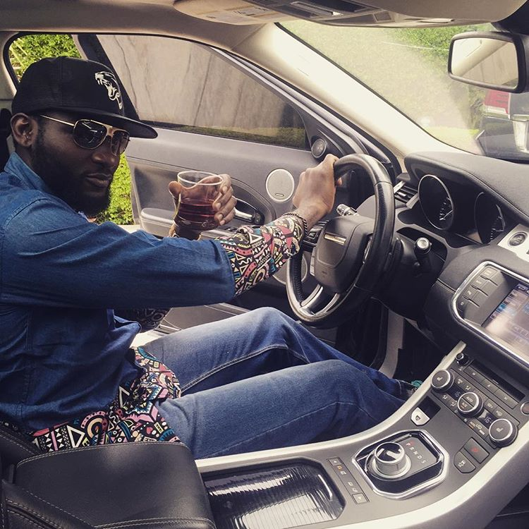 Gbenro Ajibade Range Rover gift 1