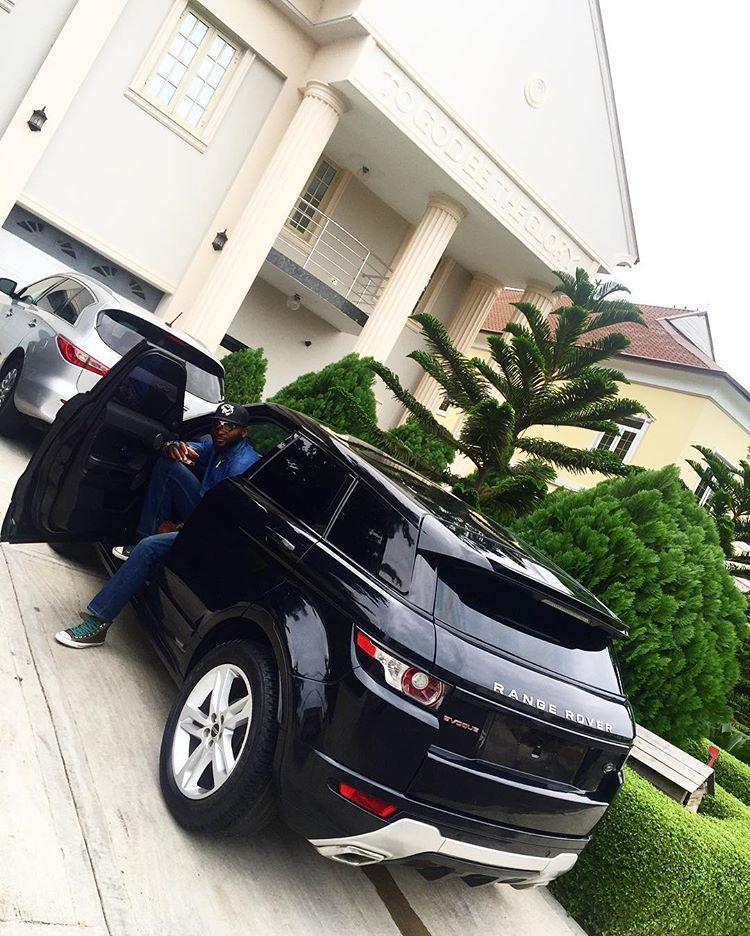 Gbenro Ajibade Range Rover gift 4