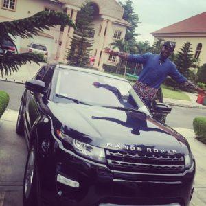 Gbenro Ajibade Range Rover gift 5