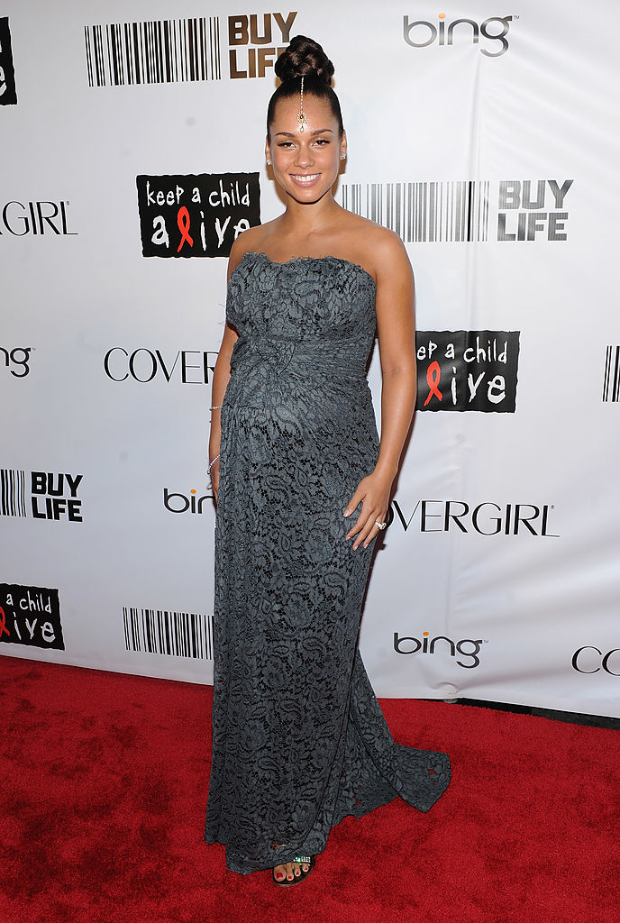 NEW YORK - SEPTEMBER 30: Singer Alicia Keys attends the 2010 Keep A Child Alive's Black Ball at the Hammerstein Ballroom on September 30, 2010 in New York City. (Photo by Stephen Lovekin/Getty Images)