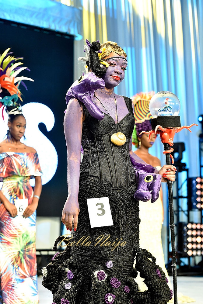 ATLANTA, GA - AUGUST 20:  A model showcases a unique hairstyle at Bronner Brothers International Beauty Show Fantasy Competition at Georgia World Congress Center on August 20, 2016 in Atlanta, Georgia.  (Photo by Paras Griffin/Getty Images)