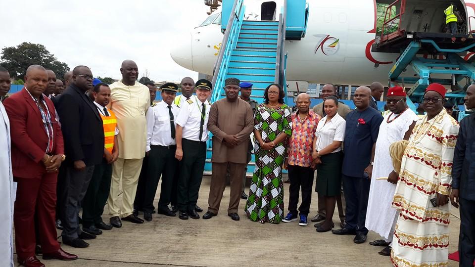 Governor Ifeanyi Ugwuanyi International Cargo Flight