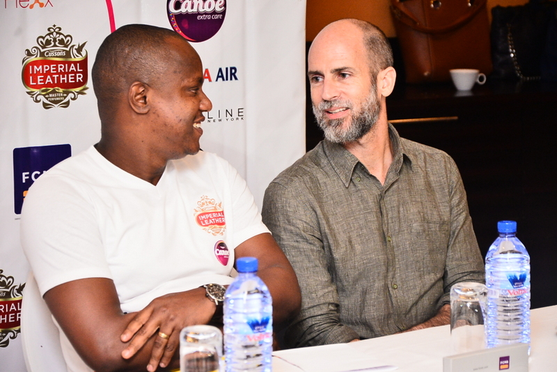 Head of category Imperial Leather and Canoe, Charles Nnochiri and Head of Pulse.ng, Rich Tanksley at the Dare2Dream Season 3 Press Conference