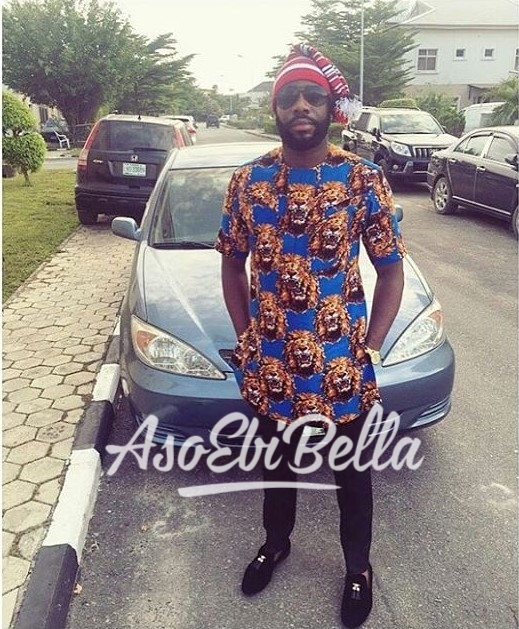 ISI AGU Vibe via @samuelumezie Outfit by @emo_bespoke_aso ebi, asoebi, asoebibella