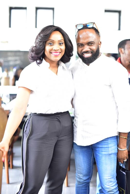 Ifeoma Williams and Noble Igwe