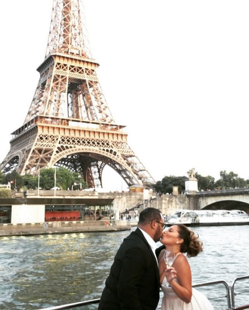 Israel Houghton and Adrienne Bailon Europe Vacation_7