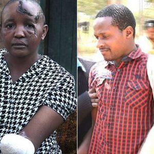 Jackline Mwende and Stephen Nthenge