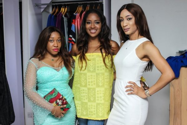 Jennifer Obayuwana, Honey Ogundeyi, Leslie Okoye