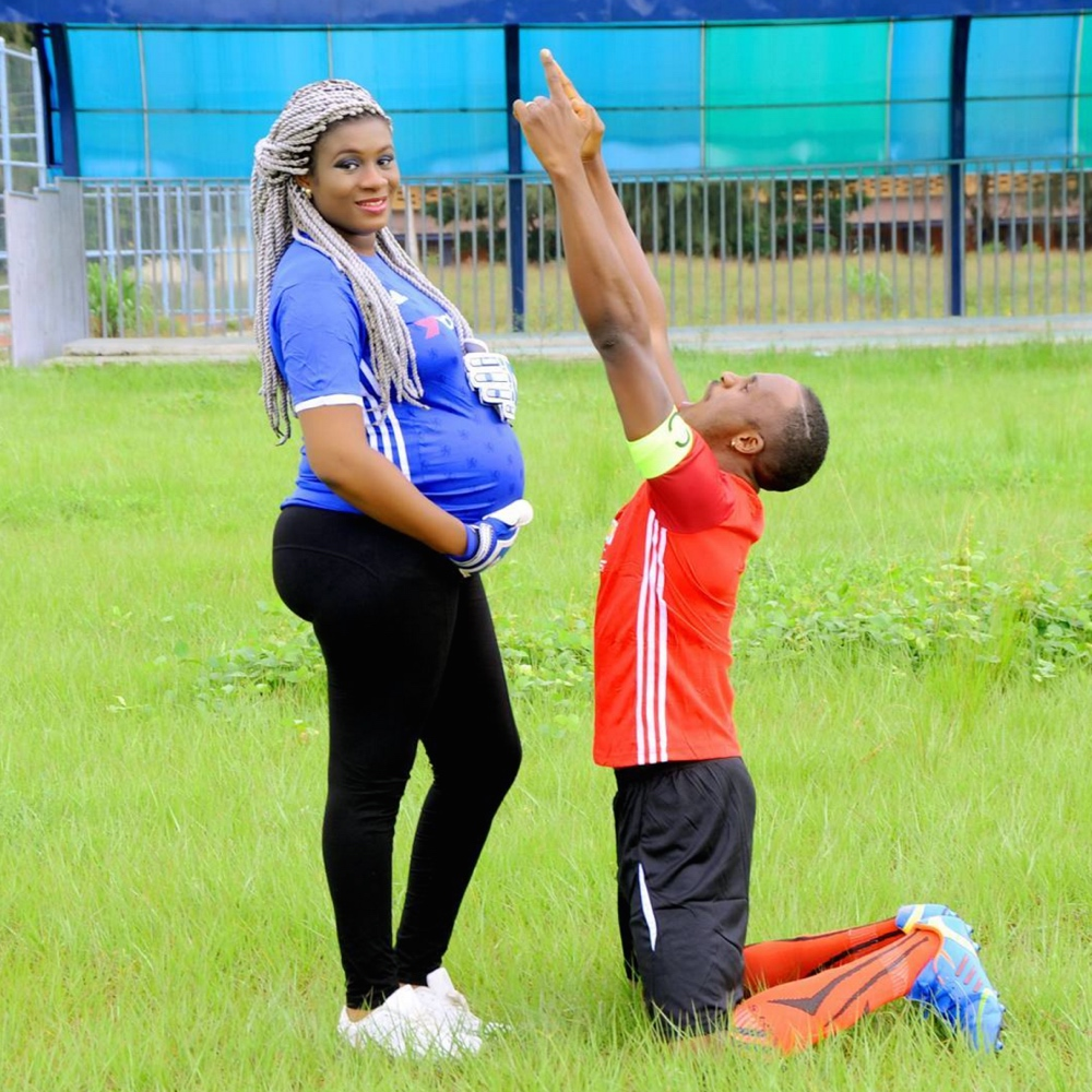 Jnr Pope Odonwodo maternity shoot with wife bellanaijaScreen Shot 2016-08-13 at 12.25.4682016_