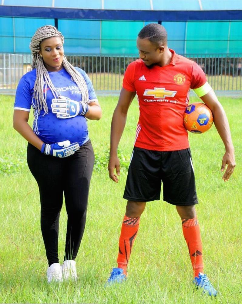 Jnr Pope Odonwodo maternity shoot with wife bellanaijaScreen Shot 2016-08-13 at 12.26.5082016_