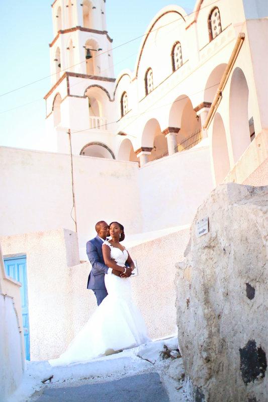 Julianna and Victor Nigerian Wedding in Santorini_Kosibah Dress, Edee Beau Makeup and Hair, Just as Planned wedding_2016_BellaNaija August_00009