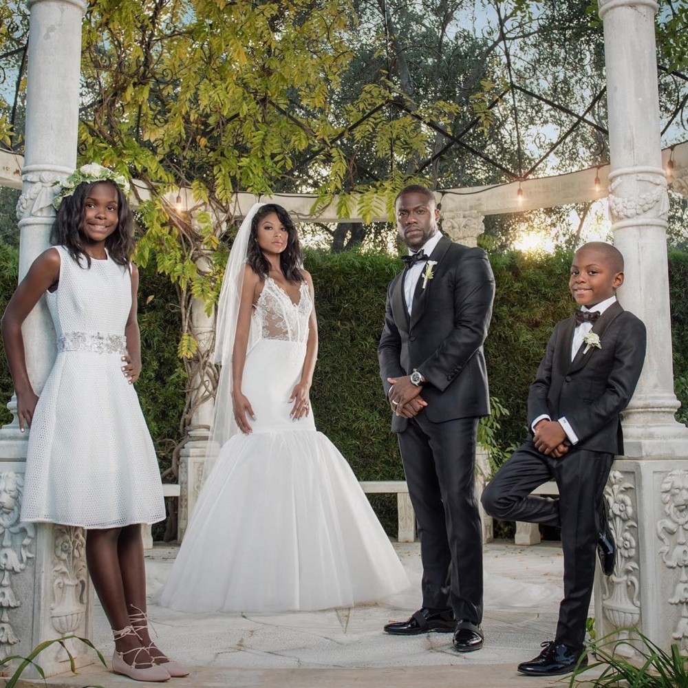Kevin Hart and Eniko Parrish Married_wedding