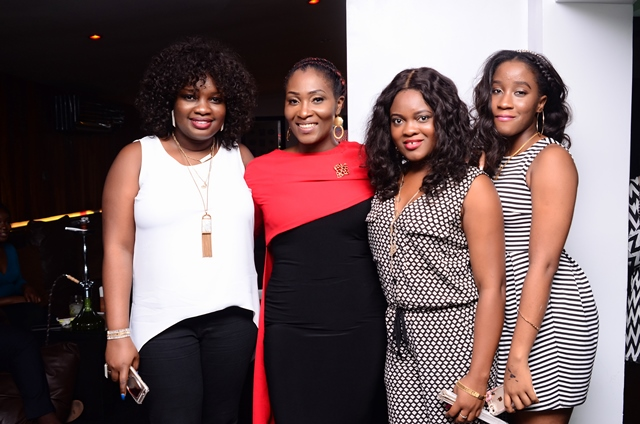 LADIES ON POINT AT ONE NITE LIVE & UNPLUGGED with RUBY GYANG