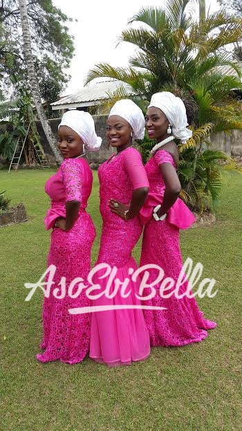 Lamide, Tumi and Busayo._aso ebi, asoebi, asoebibella