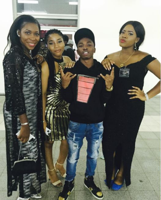 Mayorkun and the ladies