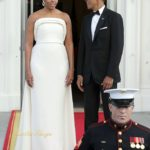 Michelle Obama State Dinner Prime Minister of Singapore (4)