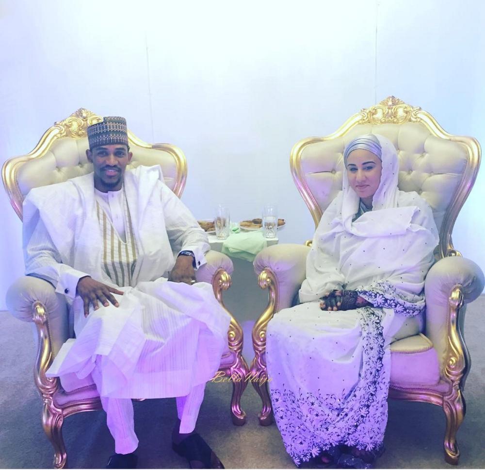 Minister Amina Mohammed Gives Away Daughter Samira Ibrahim to Aminu Bakar in Marriage_Abuja Wedding_BellaNaija 2016_wedding