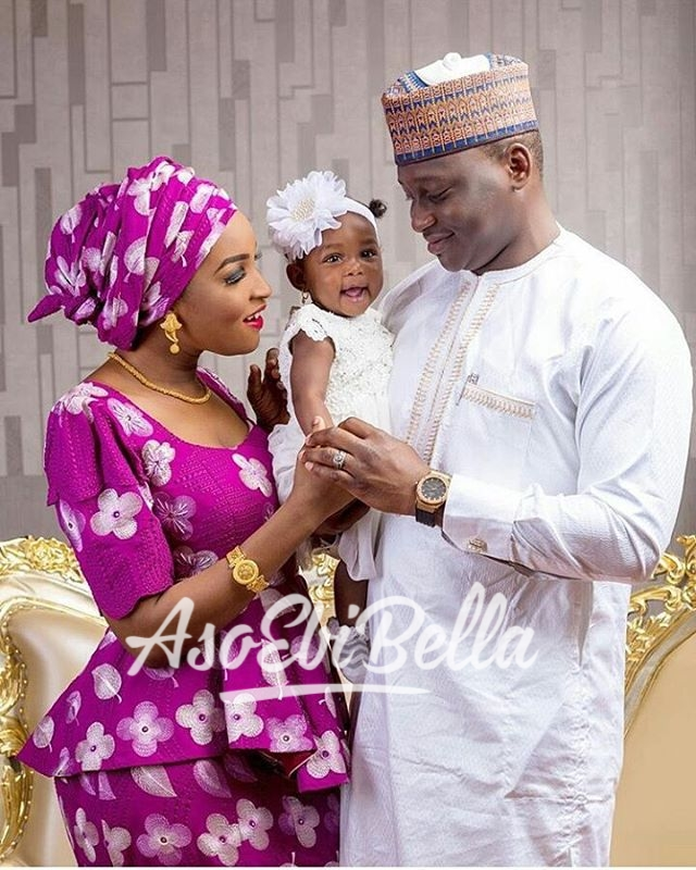 Mr & Mrs Umar X Baby Suhana @msmuneerahh MUA @ami_mansur Photography by @georgeokoro