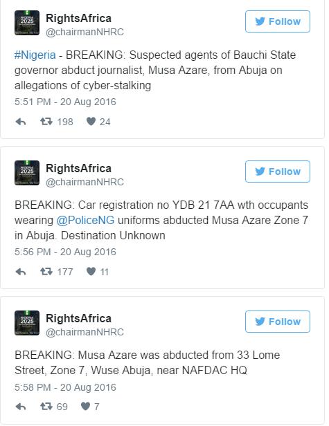 Musa Azare Arrest