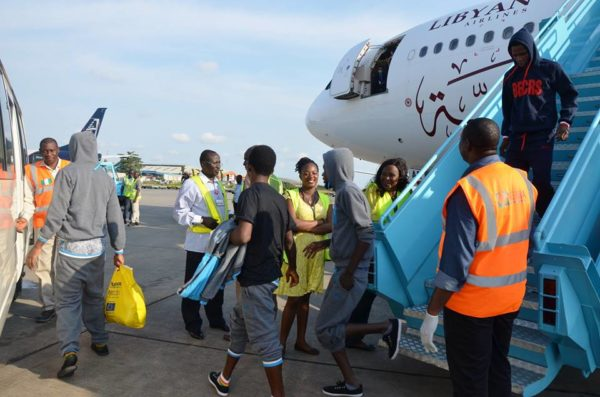 NEMA Receives 241 Nigerian Returnees from Libya1