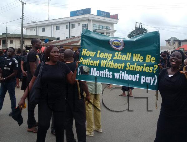 NULGE Protest in Edo