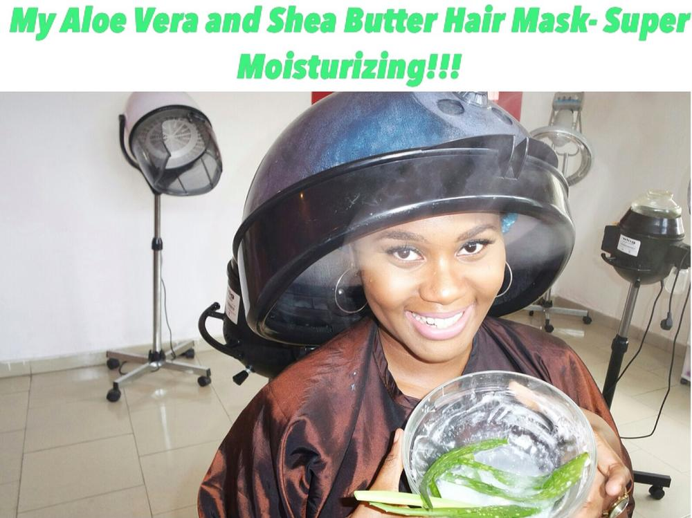 Naija Hair Can Grow Dabs BellaNaija aloe vera shea butter