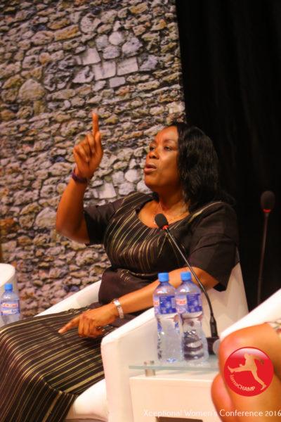 Neka Udezue speaking @ The Xceptional Women's Conference