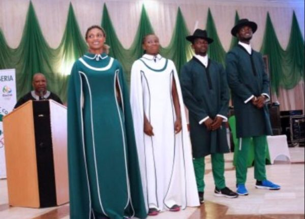 Nigeria's Supposed Outfit to Rio 2016