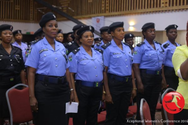 Officers of the Nigerian Police Force @ The XWomen's Conference 2016