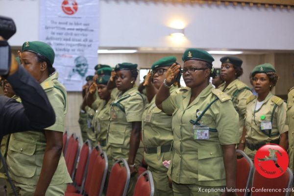 Officers of the Nigerian Prisons @ The XWomen's Conference 2016