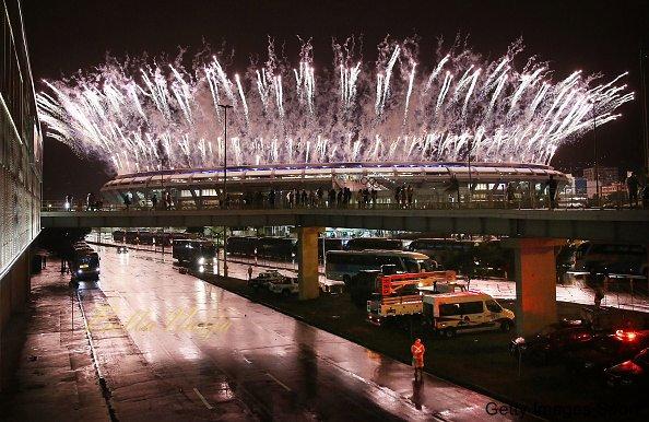 <> at Maracana Stadium on August 21, 2016 in Rio de Janeiro, Brazil.