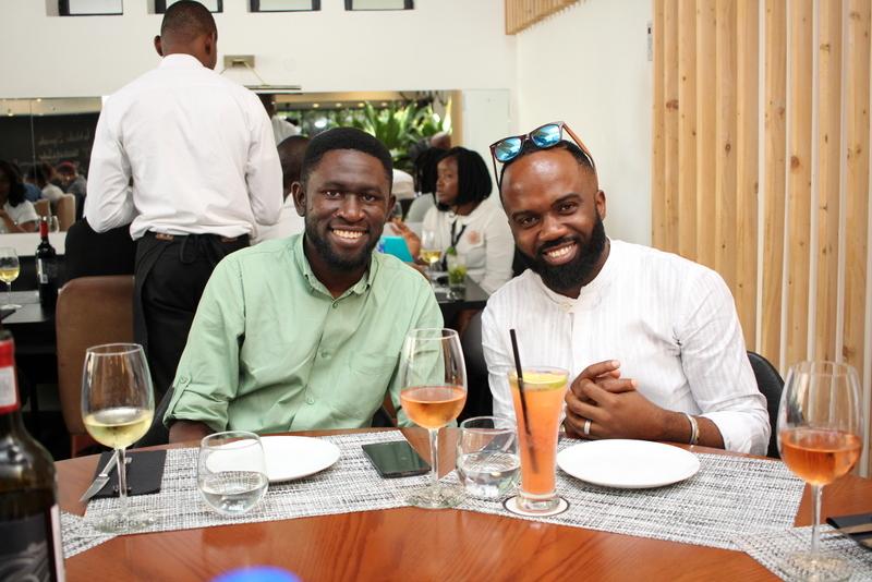 Osagie Alonge and Noble Igwe