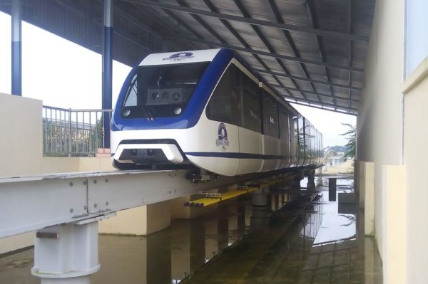 PIC. 6. THE CALABAR MONORAIL READY FOR INAUGURATION AT TINAPA RESORT ON FRIDAY (19/8/16). 5830/19/8/16/DOE/BJO/NAN