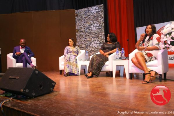 Panel Discussion on Woman, Get Out Of Your Way with Clare Omatseye, Neka Udezue _ Patricia Obozuwa
