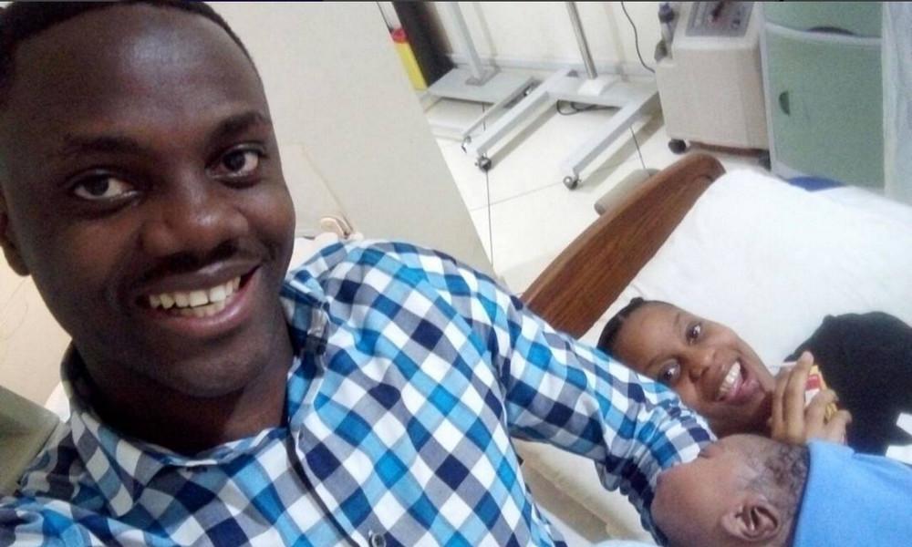 Pastor Dami and Toju welcome baby boy