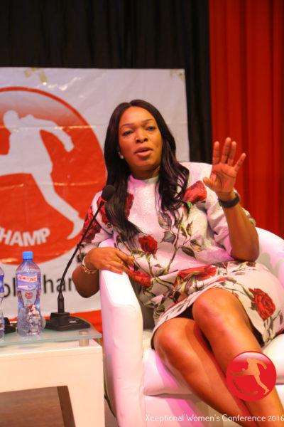 Patricia Obozuwa speaking @ The Xceptional Women's Conference