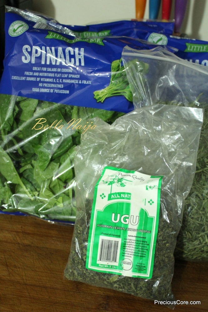 Precious Nkeih_Vegetables needed_bellanaija