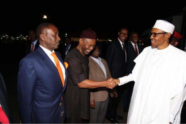 President Buhari Arrives Kenya3