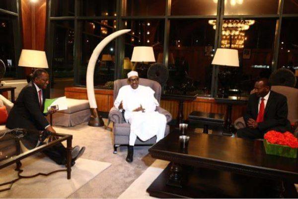 President Buhari Arrives Kenya5