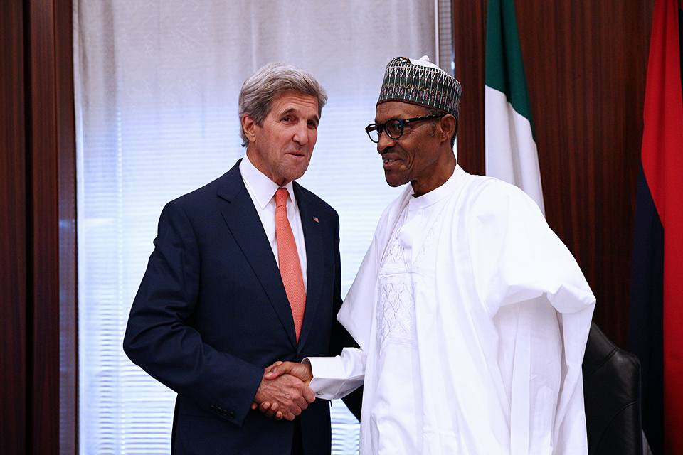 President Buhari Receives John Kerry2