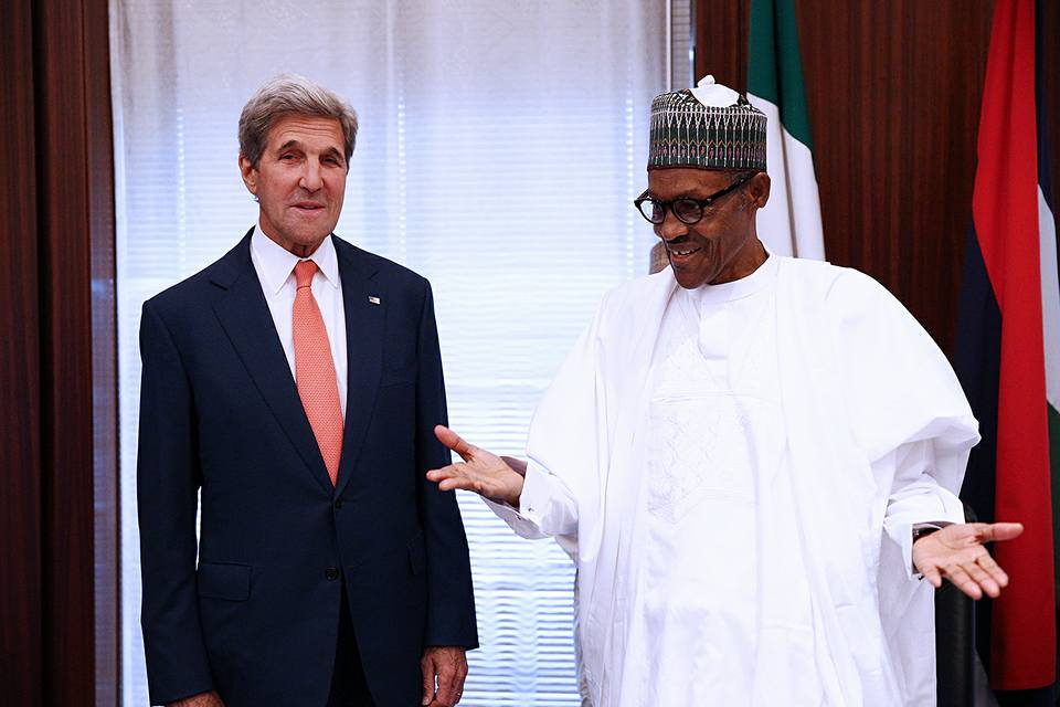 President Buhari Receives John Kerry3
