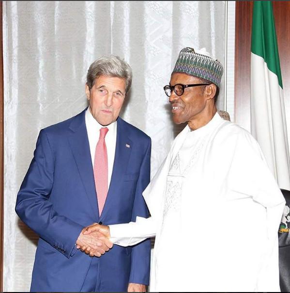 President Buhari Receives John Kerry5