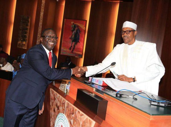 President Buhari swears in Special Advisers3